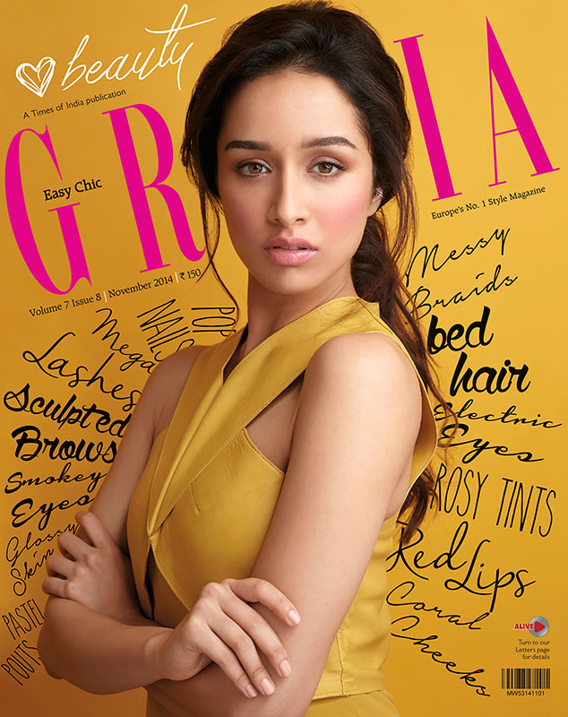 Shraddha Kapoor for Grazia
