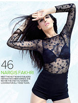 Maxim - Black Magic Woman - Nargis