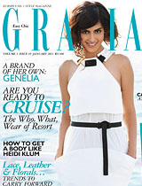 Grazia - Genelia Does It Her Way - Genelia
